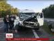 """ДТП за участі мікроавтобусу музикантів гурту """"ТНМК"""" трапилось на трасі під Кропивницьким"""