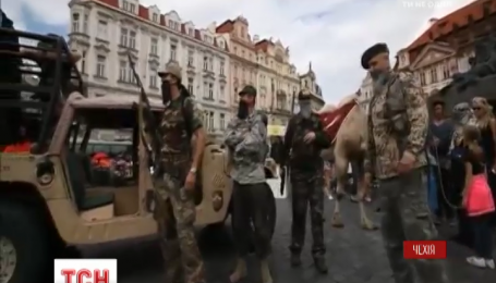 Инсценировка вторжения ИД в Чехию возмутило жителей Праги