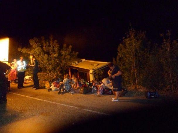 Поліція оприлюднила подробиці ДТП на Запоріжжі з паломницьким автобусом: постраждали 9 дітей