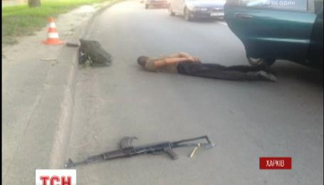 В Харькове военный открыл стрельбу