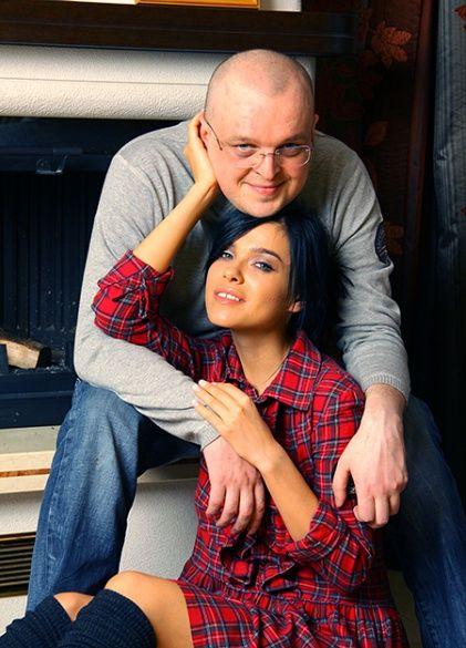 Олена Темнікова з братом Макса Фадєєва
