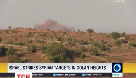 Израиль поднял авиацию из-за случайной мины, которая прилетела на территорию страны из Сирии