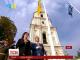 Порошенко та донька Героя України підняли прапор на Софійській площі