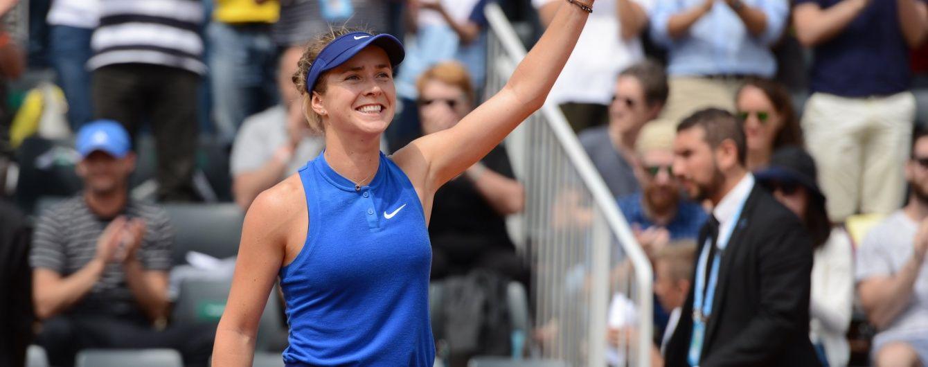 Світоліна обіграла росіянку та вийшла до чвертьфіналу тенісного турніру в США