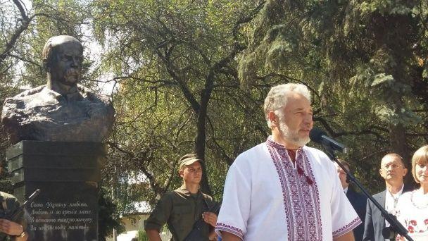 На Донеччині відкрили пам'ятник Тарасові Шевченку