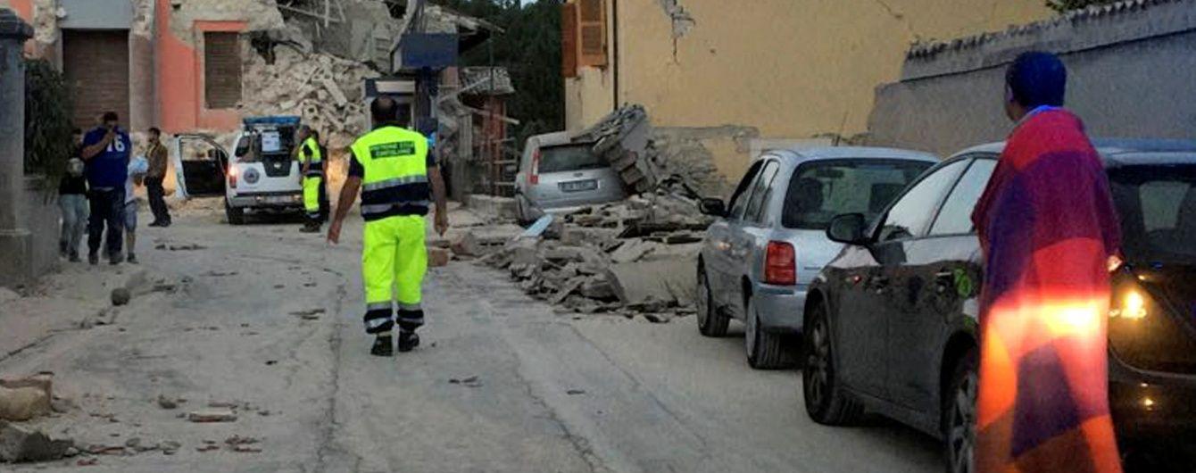Італія здригається від нових потужних поштовхів