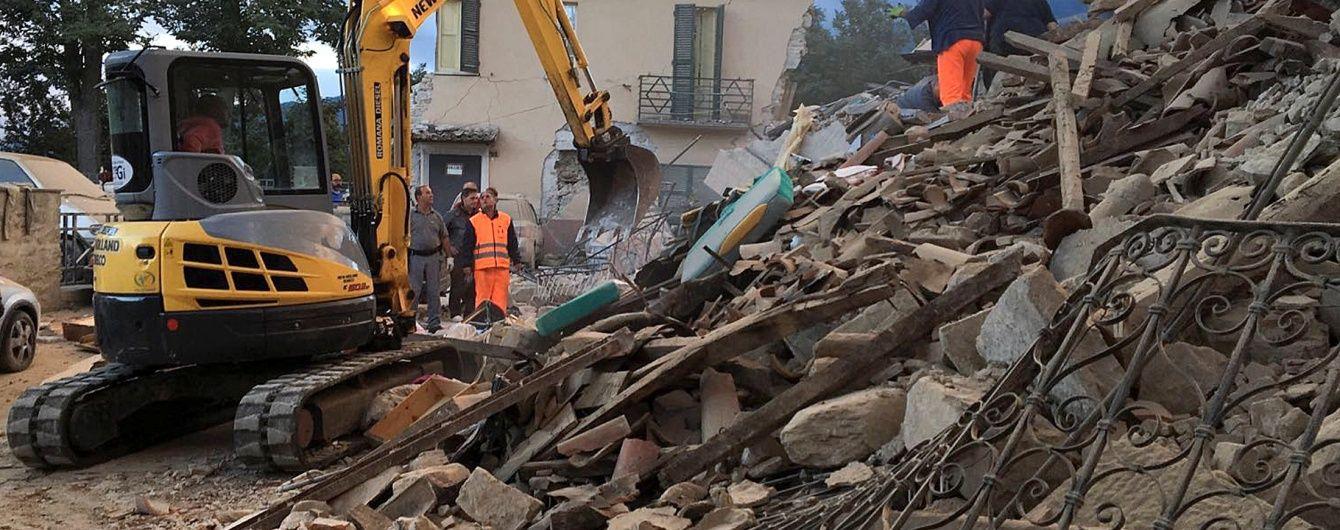 Порошенко та Гройсман висловили співчуття родинам загиблих унаслідок землетрусу в Італії