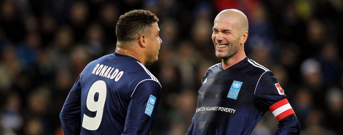 """9 років потому. Легендарний """"зубастик"""" Роналдо став радником президента """"Реала"""""""