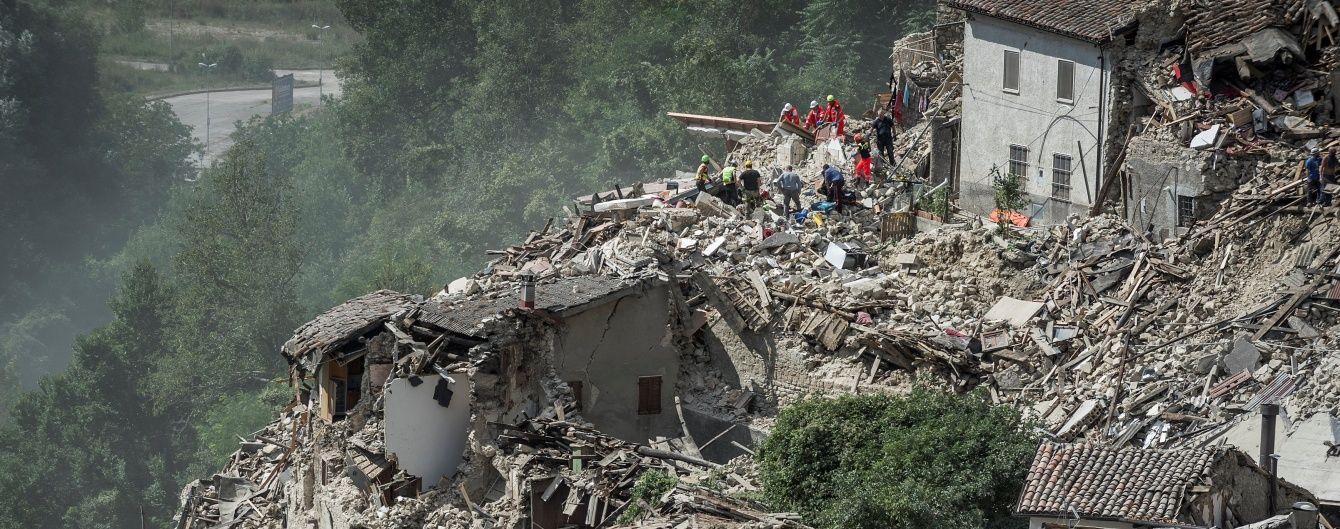 В Італії значно зросла кількість жертв потужного землетрусу