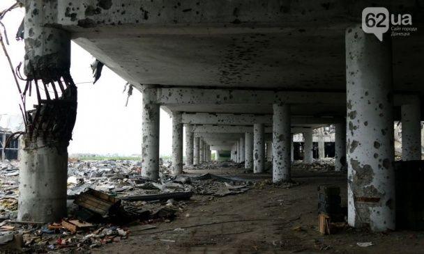 Руїни донецького аеропорту. Як зараз виглядає летовище