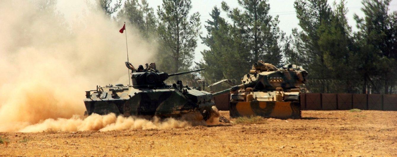 Турецька армія зазнала перших втрат в Сирії