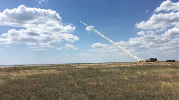 """З'явилося відео успішного випробування нової української ракети """"Вільха"""""""