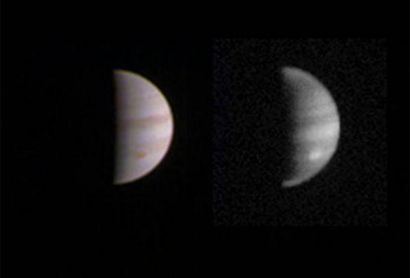 NASA показало новые снимки Юпитера