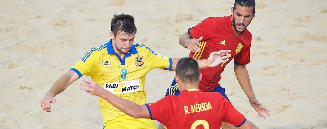 Збірна України з пляжного футболу достроково вийшла у чемпіонський матч Євроліги-2016
