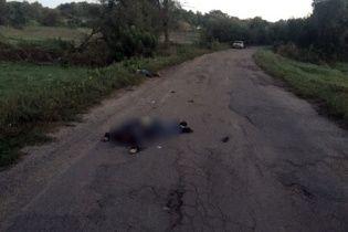 Поліція оприлюднила фото водія, який на смерть збив трьох хлопців та втік