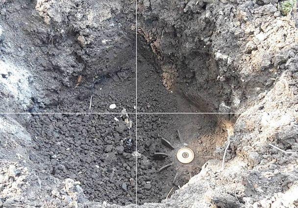 """У штабі АТО показали наслідки обстрілу Красногорівки з """"Града"""""""