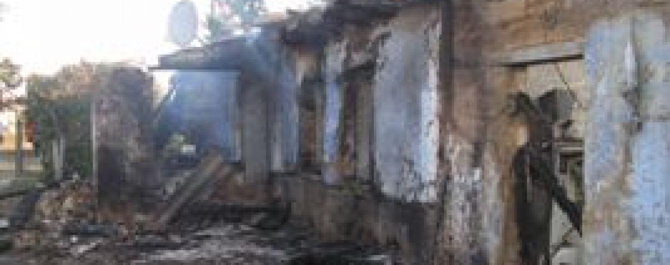 На Одещині у страшній пожежі загинули жінка та двоє маленьких дітей