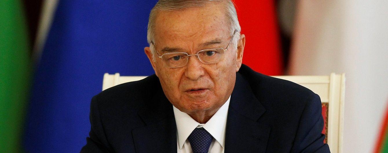 Стала відома причина госпіталізації президента Узбекистану Іслама Карімова