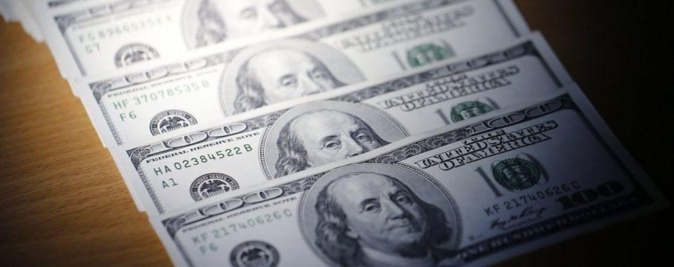 Долар і євро здешевшали в курсах Нацбанку на 24 жовтня. Інфографіка