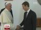 Папа Римський познайомився із засновником соцмережі Facebook  Марком Цукербергом