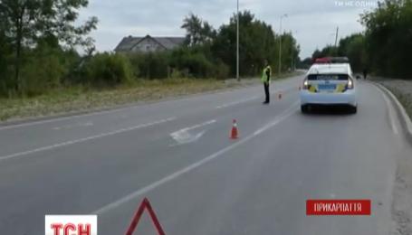 В Ивано-Франковске патрульные полицейские сбили 78-летнего велосипедиста