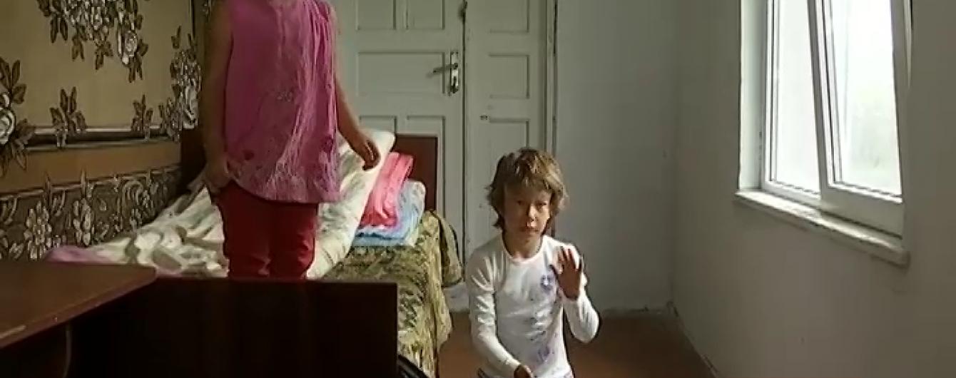 На Львівщині діти змушені рятуватися від голоду соняшниками та квітами при живих батьках