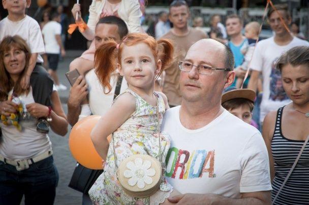 Привабливі вогняні дівчата та малюки із ластовинням. В Одесі відбувся фестиваль рудих