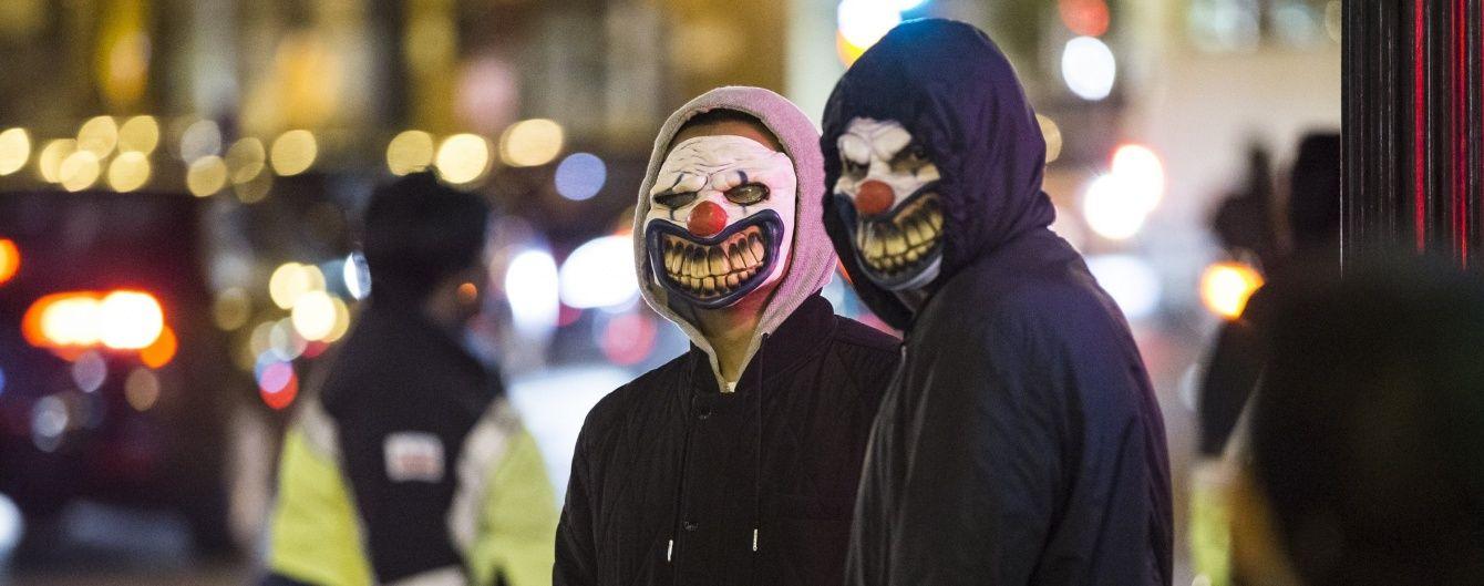 У США моторошний клоун заманює дітей до лісу