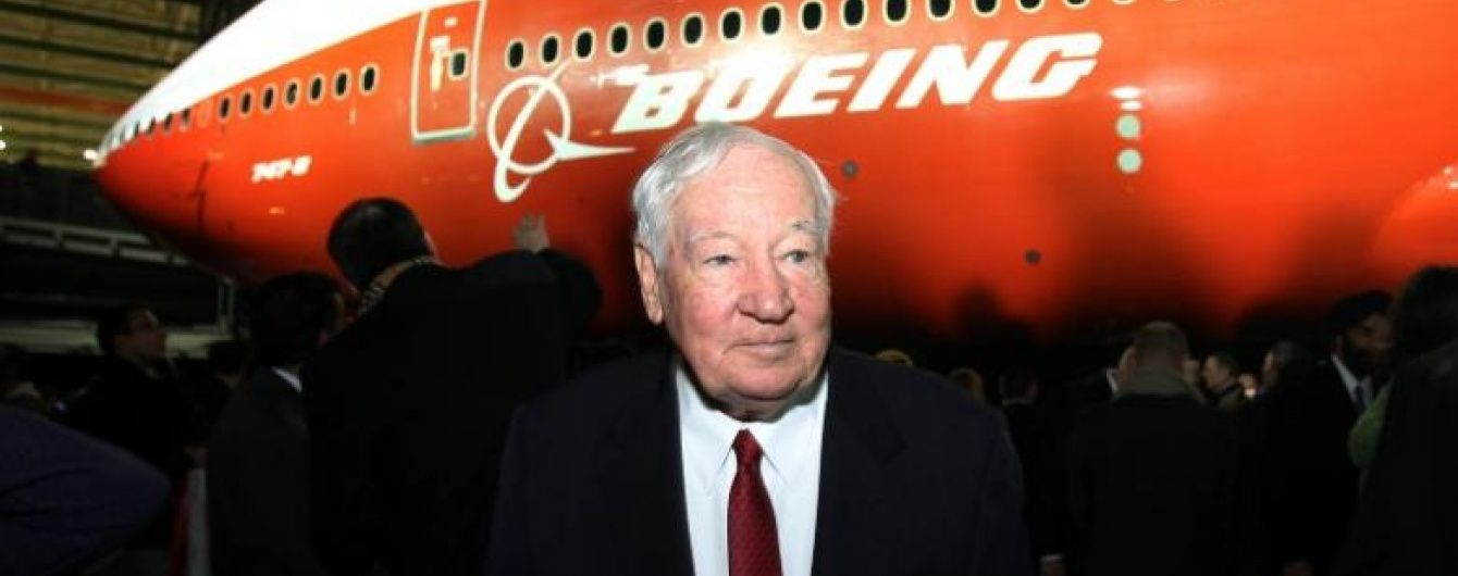 Помер відомий інженер та керівник команди легендарного Boeing-747 Джо Саттер