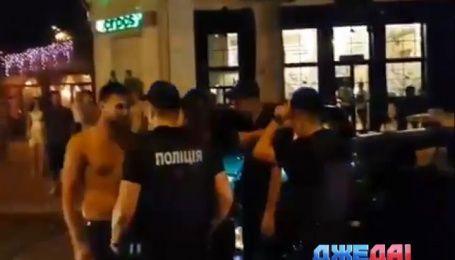 Николаевские мажоры против полиции: кто первый испугался