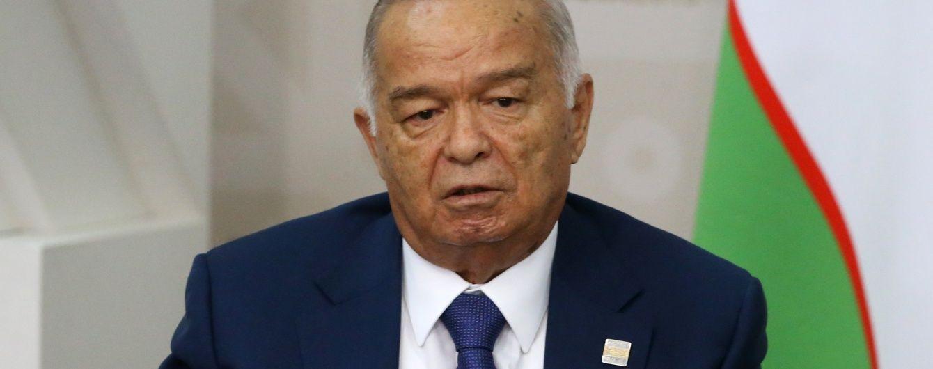 Державне телебачення Узбекистану підтвердило інформацію про смерть Карімова