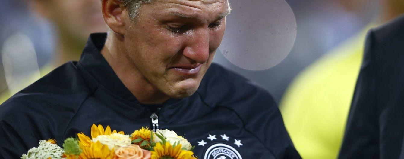 Радість крізь сльози. Німеччина обіграла Фінляндію в останньому матчі Швайнштайгера