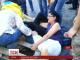 З палаючими шинами та сльозогінним газом у Одесі демонтували майданчик протестувальників