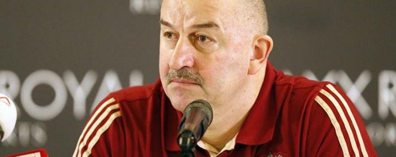 Новий тренер збірної Росії розкритикував своїх гравців за відсутність інстинкту вбивці