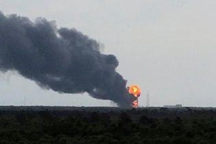 У Мережі з'явилося відео моменту вибуху ракети Falcon 9