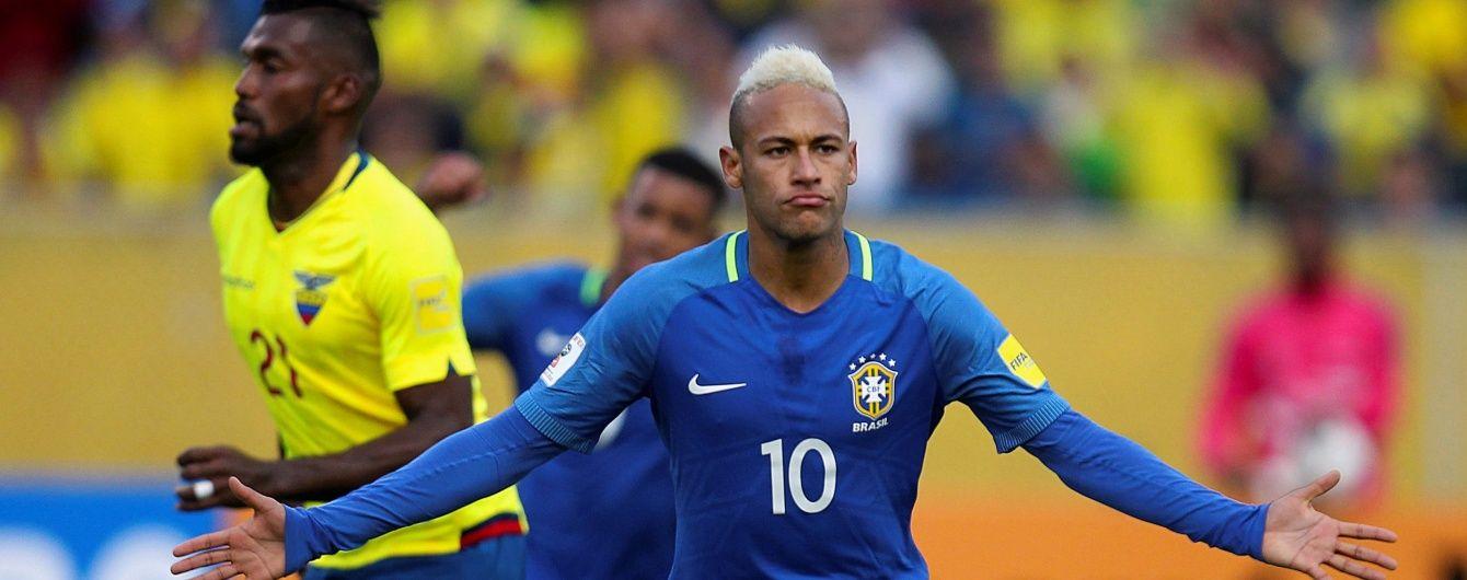 Тайсон провів дебютний матч за збірну Бразилії на лавці запасних