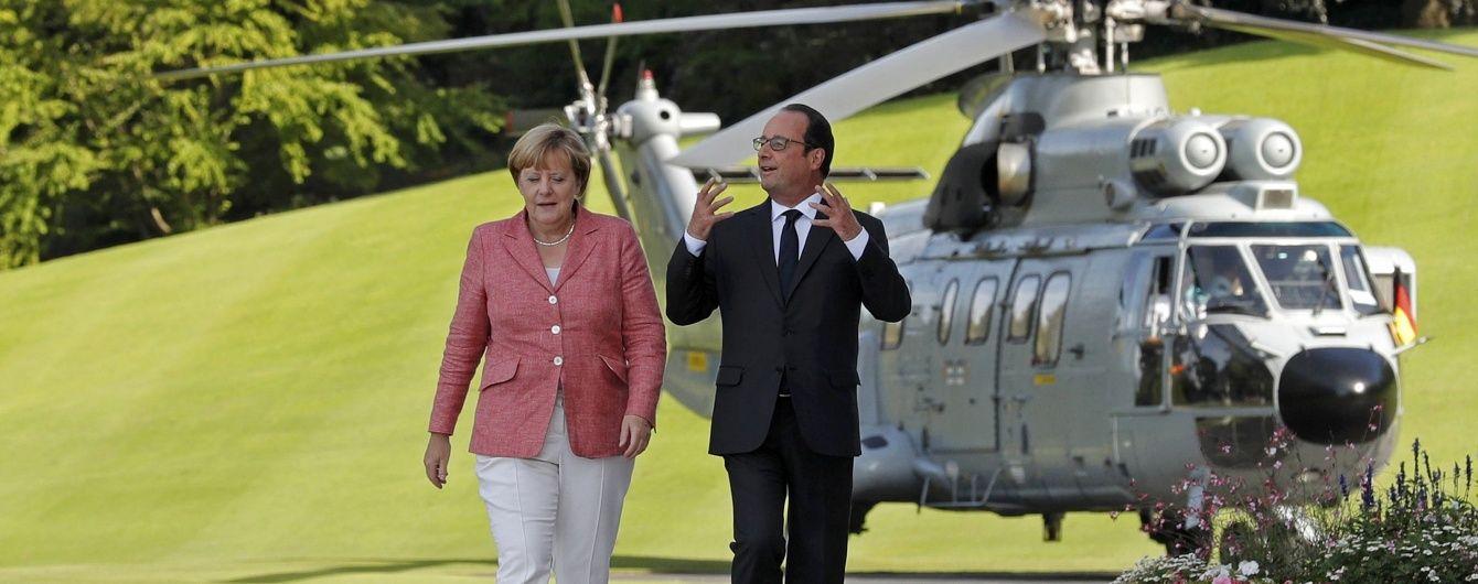 Німеччина і Франція домовилися порушити українське питання на саміті G20