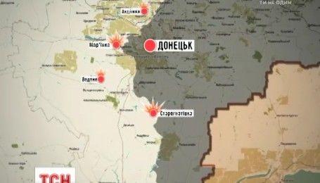 Бойовики російсько-терористичних формувань і далі обстрілюють українські позиції