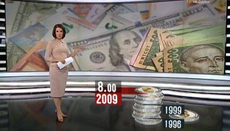 Валютний термометр: гривня падає – долар росте