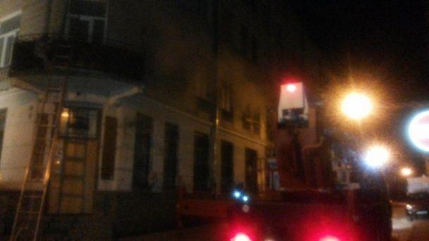 Уночі у Львові спалахнула пожежа