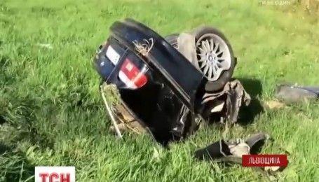 На Львівщині трапилася моторошна ДТП за участі чотирьох автомобілів