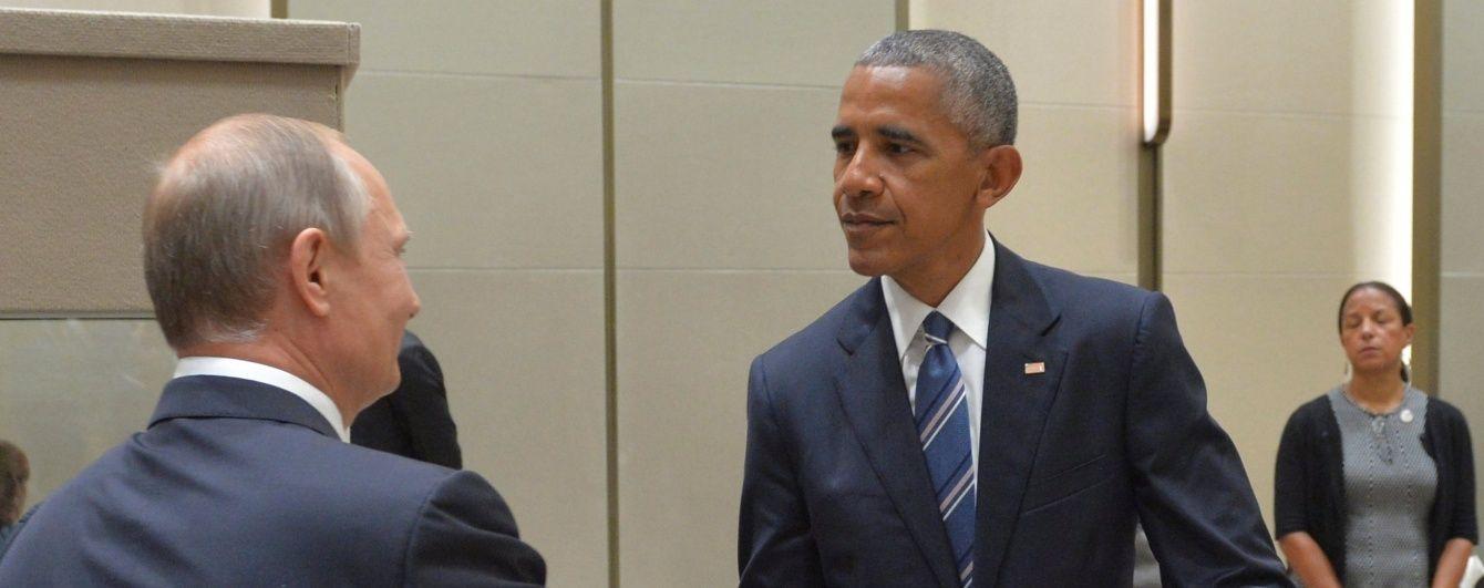 Путін та Обама більше години говорили про Україну та Сирію