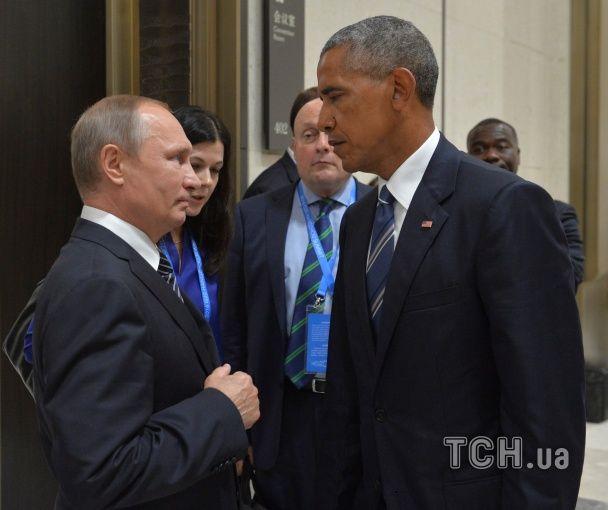 """Бій на рингу та обійми в """"Титаніку"""". Путіна та Обаму на саміті G20 висміяли у фотожабах"""