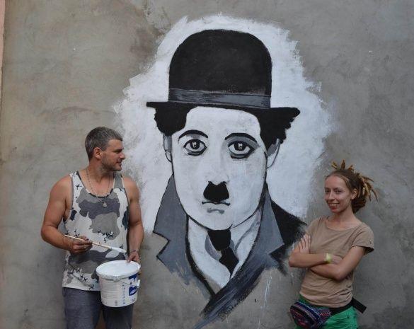 Мірзоян намалював Чапліна_2