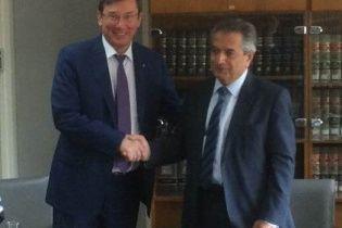 Луценко на Кіпрі домовився про співпрацю у розслідуванні злочинів колишніх українських посадовців