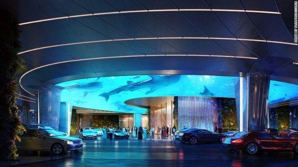 У Дубаї побудують хмарочоси із тропічним лісом усередині