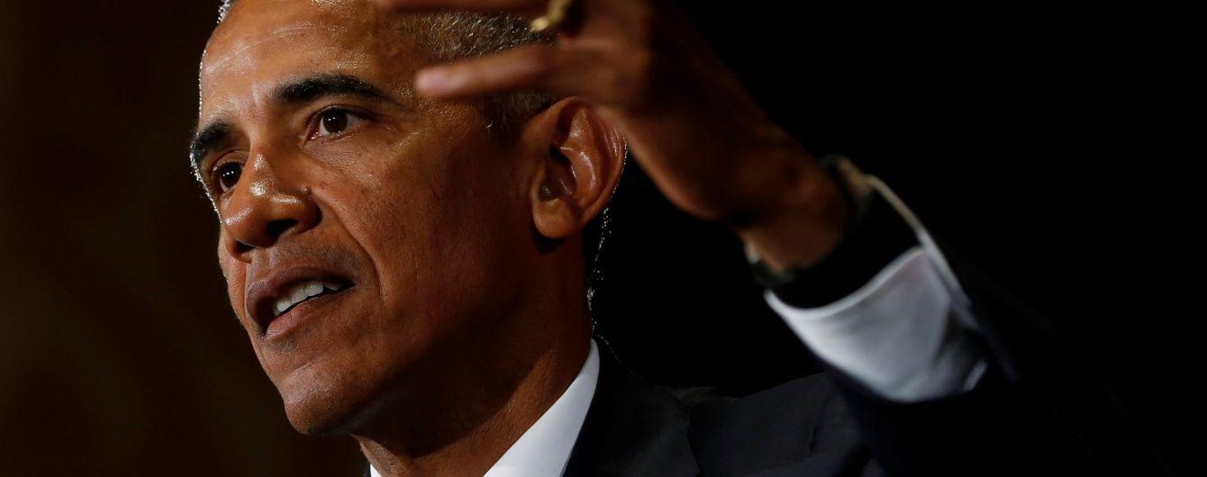 Досить скиглити. Обама відгукнувся на заяви Трампа про фальсифікацію президентських виборів