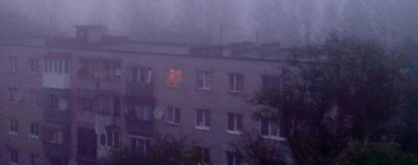У ДСНС розповіли причину задимлення у Львові