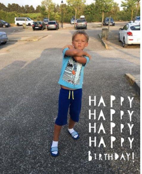 Син Потапа день народження 2