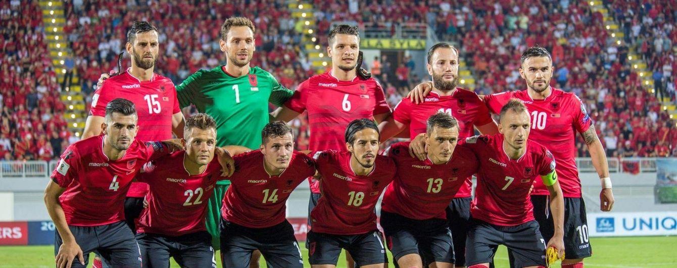 Албанія в перенесеному через зливу матчі обіграла Македонію у відборі до ЧС-2018